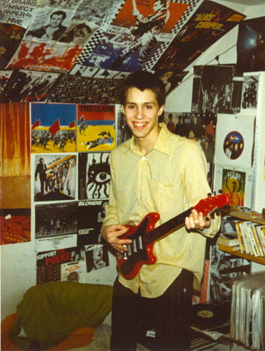 Nate in his room c. 1980